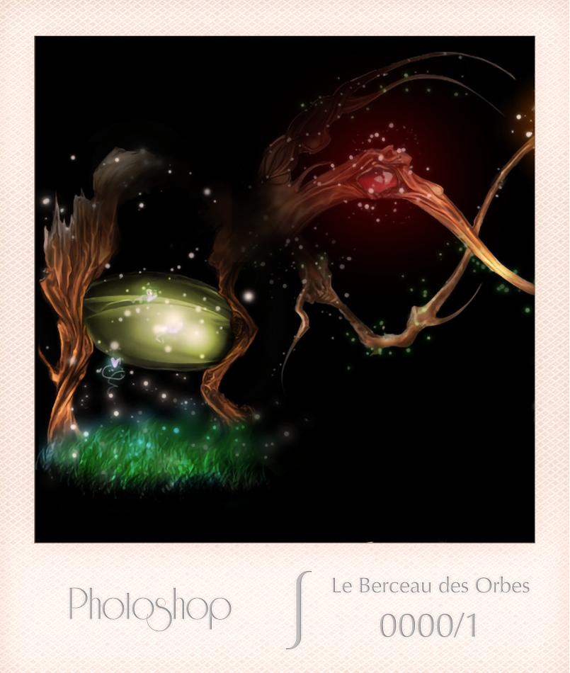 Photoshop - Le Berceau des Orbes - 0000-1 - Edwige Delombaerde aka wig0