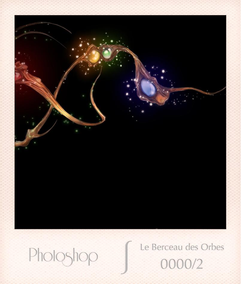 Photoshop - Le Berceau des Orbes - 0000-2 - Edwige Delombaerde aka wig0