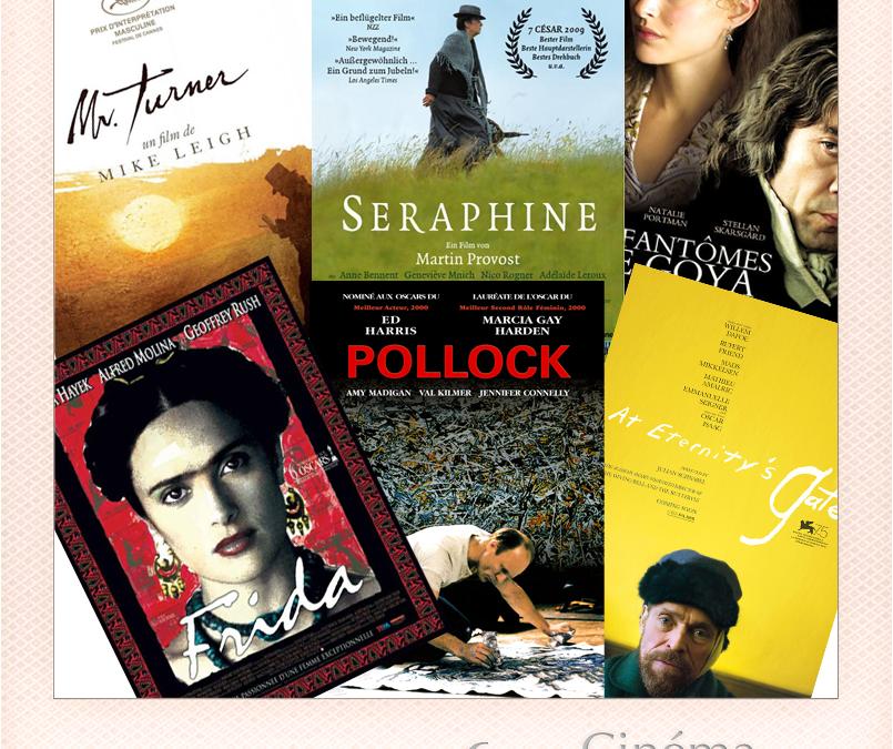 6 films cultes autour d'artistes peintres incontournables.